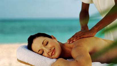 beach massage prea brazil